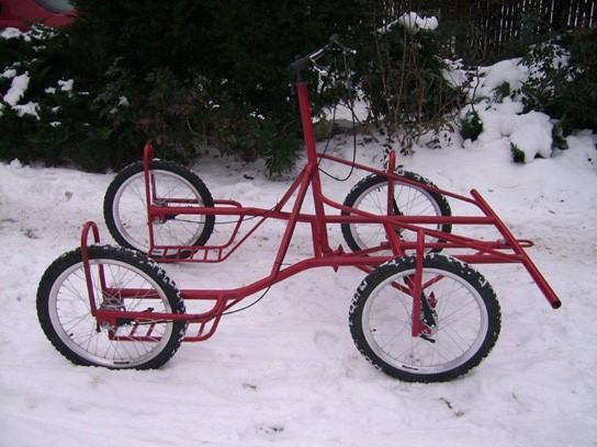 Wózek 4-kołowy promocja!